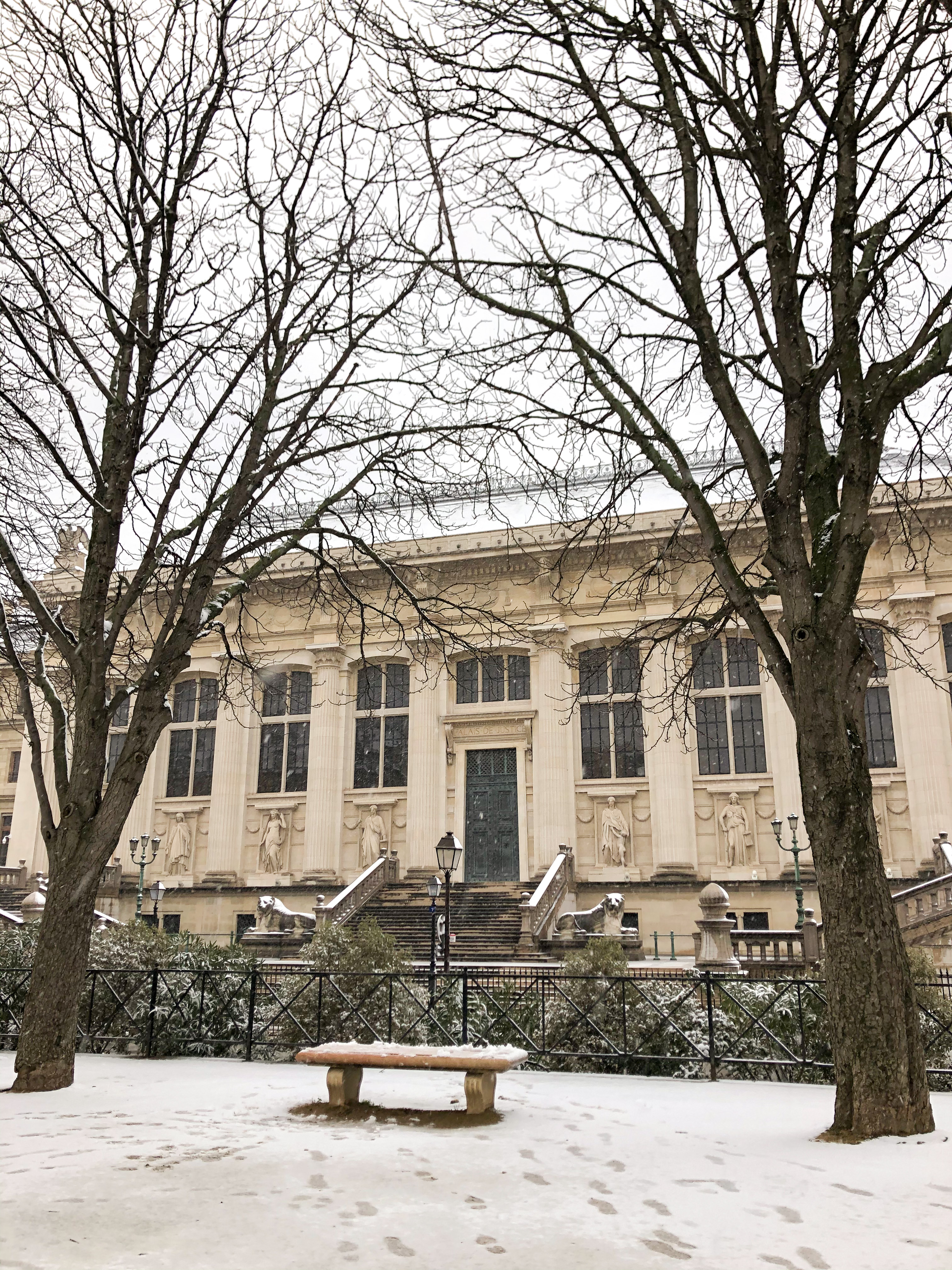 Paris sous la neige guide paris